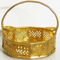 Brass Flower Basket Manufacturers