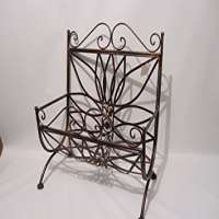 Wrought Iron Magazine Rack Manufacturers