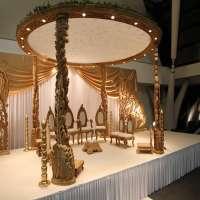 木婚礼Mandap 制造商