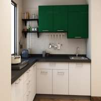L Shape Modular Kitchen Manufacturers