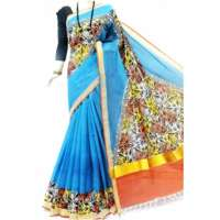 Printed Cotton Saree Manufacturers