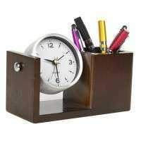 Table Clock Pen Stand Manufacturers