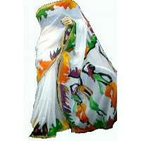 Hand Painted Saree Importers