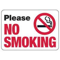 No Smoking Signs Manufacturers