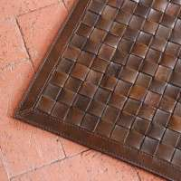 Woven Leather Rugs Manufacturers
