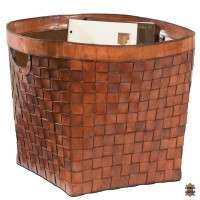 Leather Basket Manufacturers