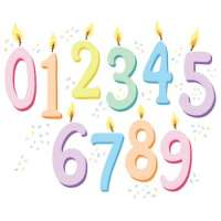 Number Candle Manufacturers