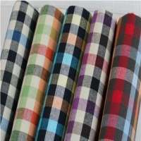 Check Shirting Fabric Importers