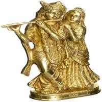 Brass Radha Krishna Statue Manufacturers