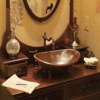 铜浴室水槽 制造商