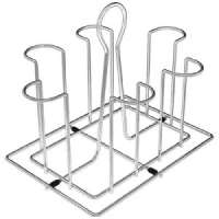 Stainless Steel Glass Stand Manufacturers