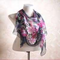 Printed Sillk Scarves Manufacturers