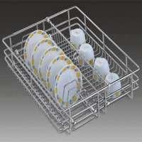 SS Cup & Saucer Basket Manufacturers