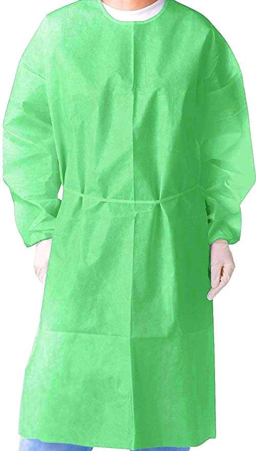 disposable nonwoven isolation gown Manufacturers
