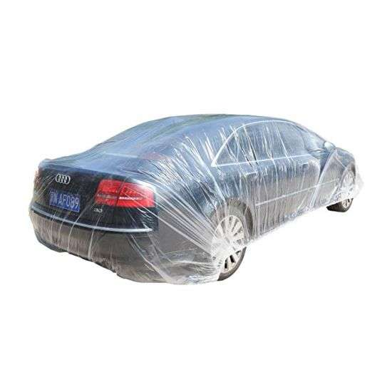 disposable plastic car cover Manufacturers