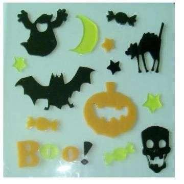 Halloween Gel Sticker Manufacturers