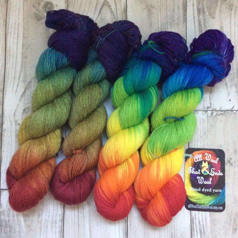 Hand Dyed Yarn Manufacturers
