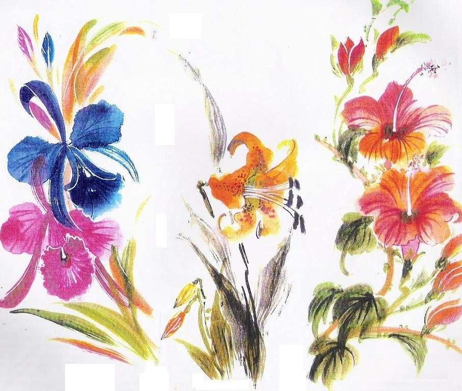 Hand Paint Fabric Manufacturers