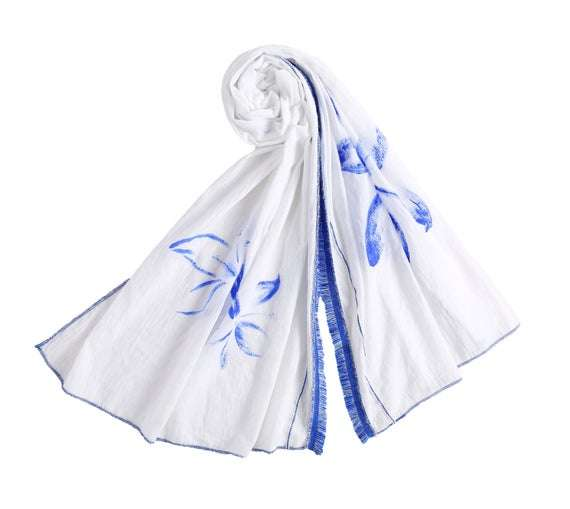 Hand Paint Scarf Manufacturers
