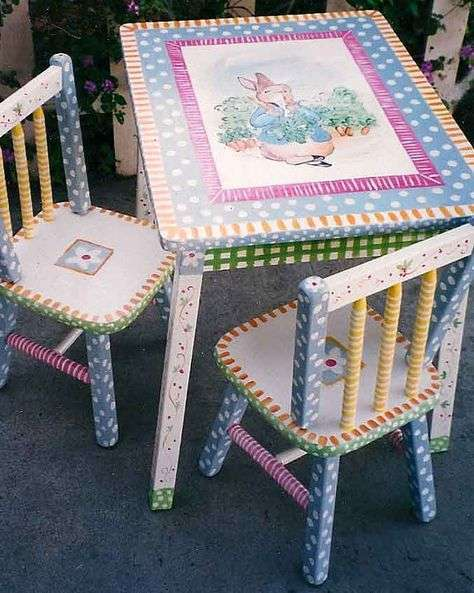 Hand Painted Child Furniture Manufacturers