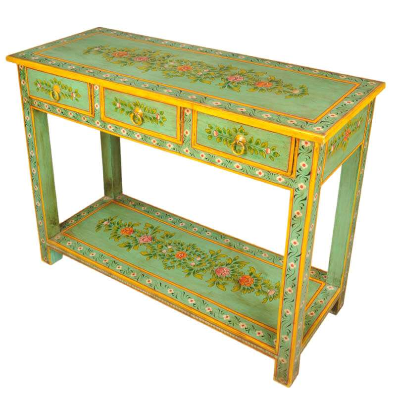 Hand Painted Console Table Manufacturers