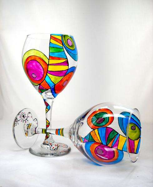 Hand Painted Glassware Manufacturers