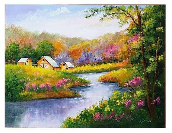 Handmade Acrylic Painting Manufacturers