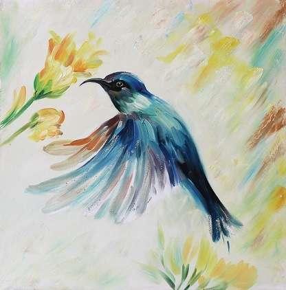 Handmade Animal Oil Painting Manufacturers