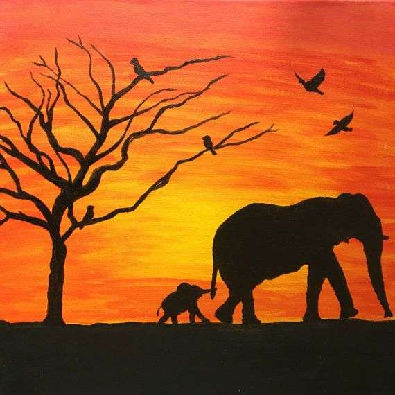 Handmade Animal Painting Manufacturers