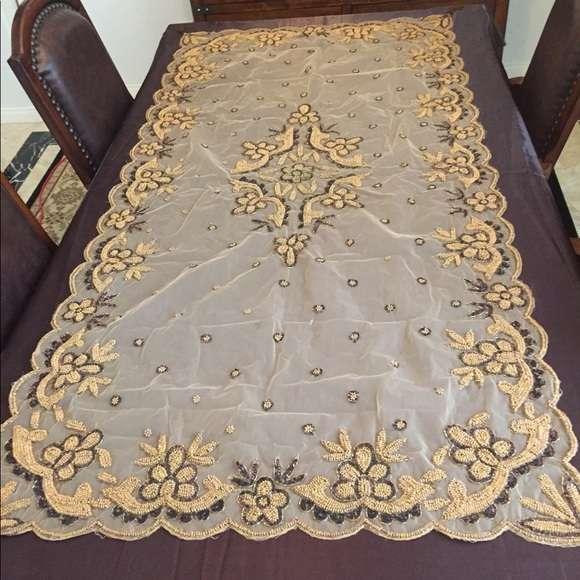 Handmade Bead Table Cloth Manufacturers