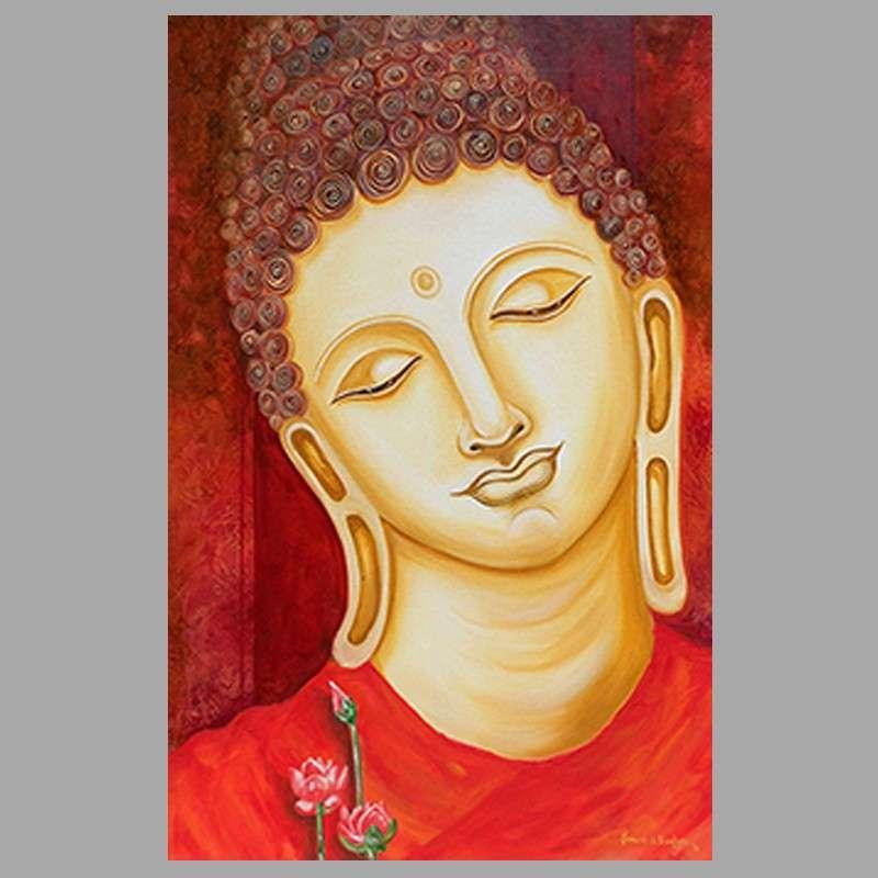 Handmade Buddha Oil Painting Manufacturers