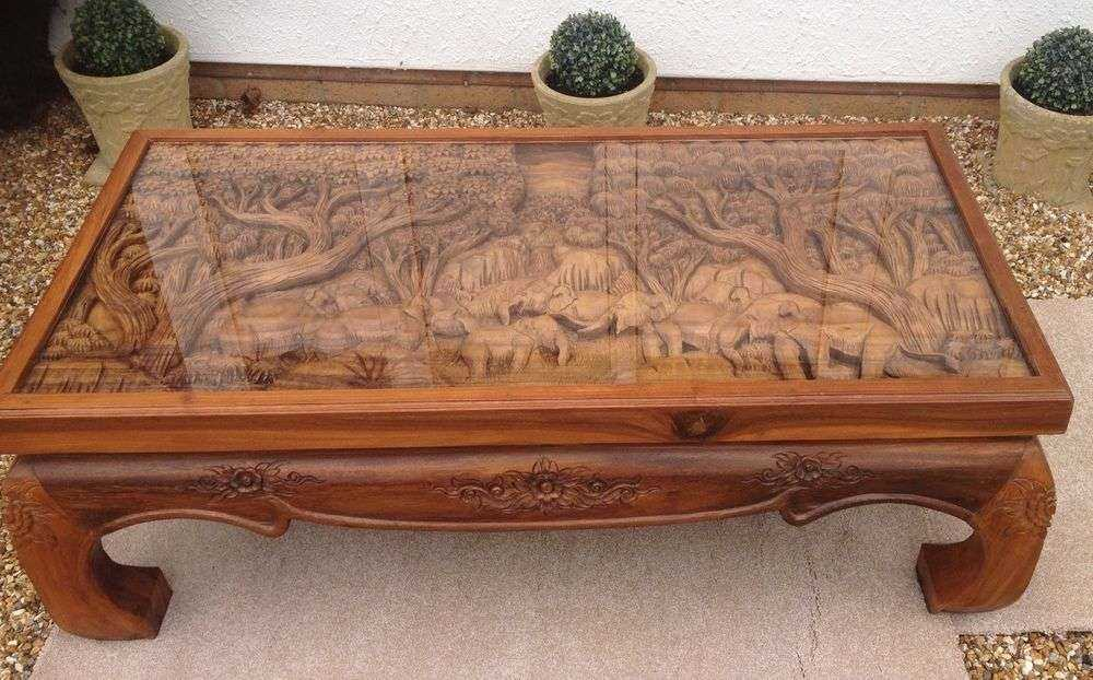 Handmade Carved Table Manufacturers