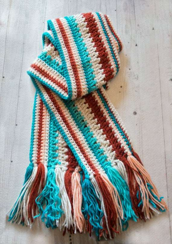 Handmade Crocheted Scarf Manufacturers