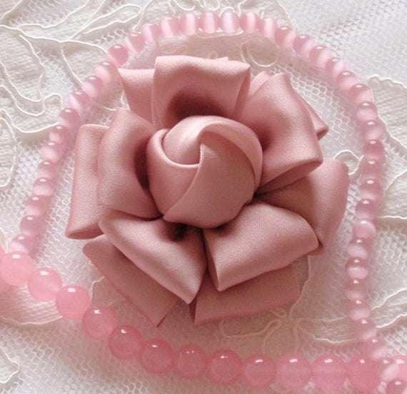 Handmade Flower Fabric Silk Manufacturers