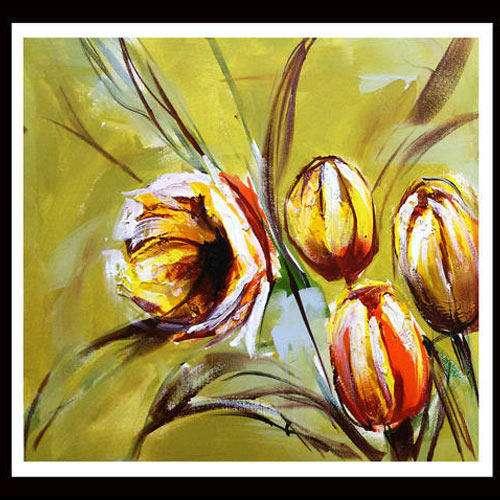 Handmade Flower Painting Manufacturers