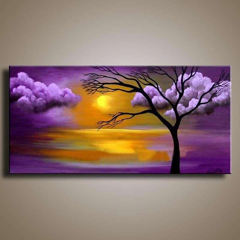 Handmade Landscape Painting On Canvas Manufacturers