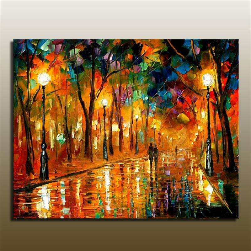 Handmade Painting Abstract Canvas Manufacturers