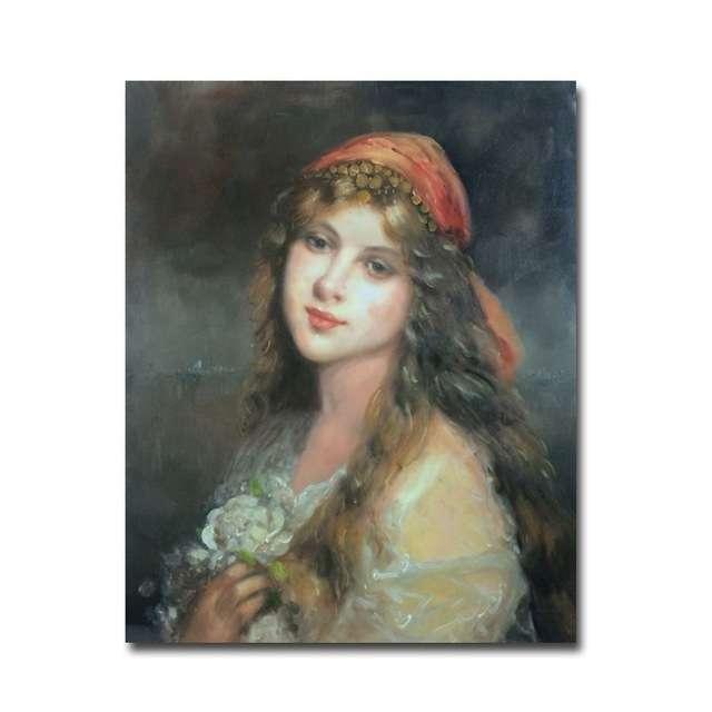 Handmade Portrait Oil Painting Manufacturers