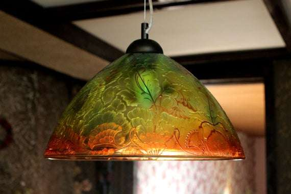 Hanging Glass Lamp Shade Manufacturers
