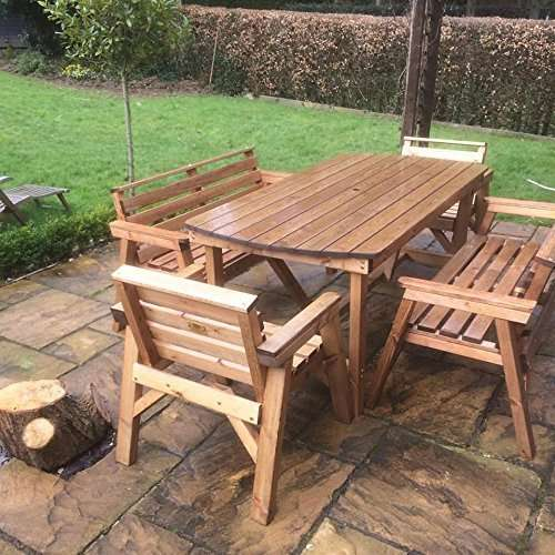 Hardwood Garden Table Manufacturers