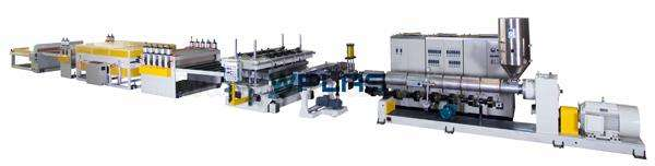 Hollow Sheet Extrusion Line Manufacturers