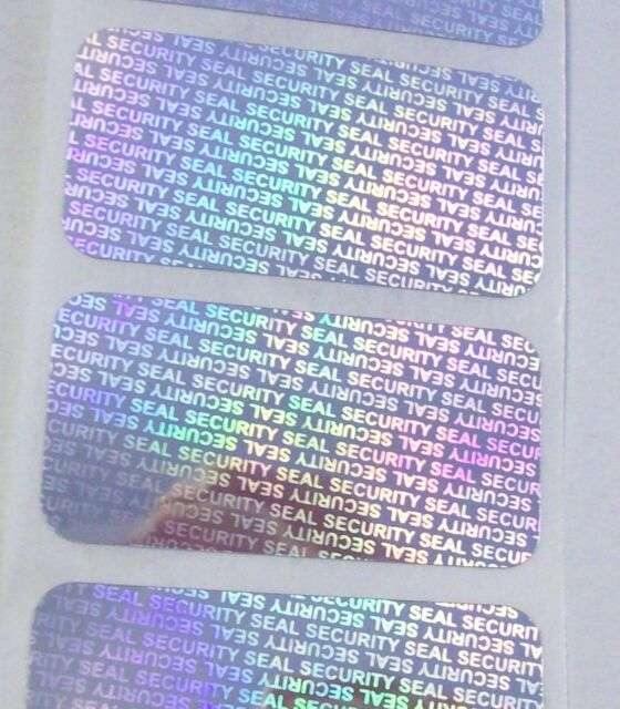 Hologram Security Label Sticker Manufacturers