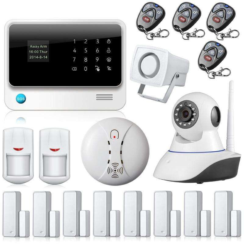 Home Alarm System Gsm Camera Manufacturers