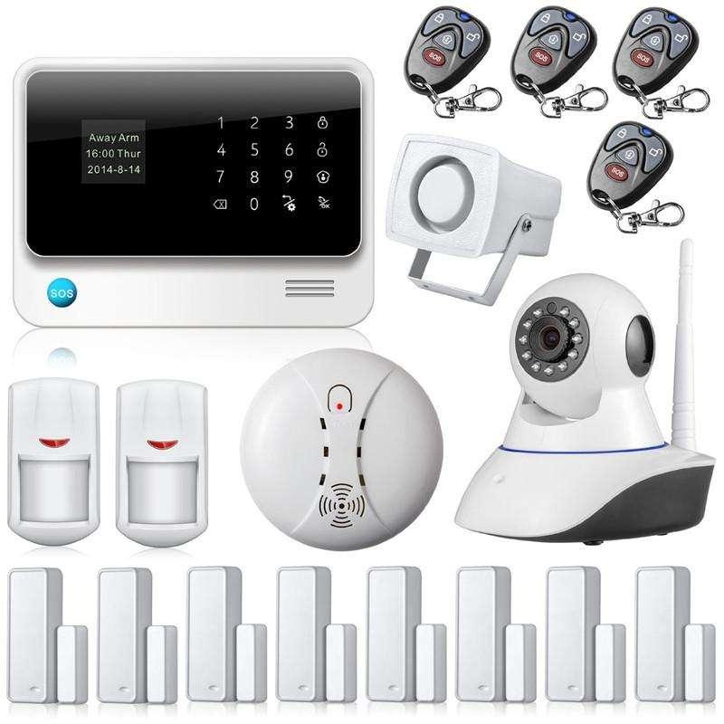 Home Alarm System Internet Manufacturers