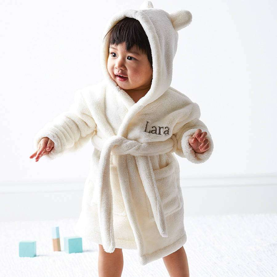 Hooded Baby Bathrobe Manufacturers