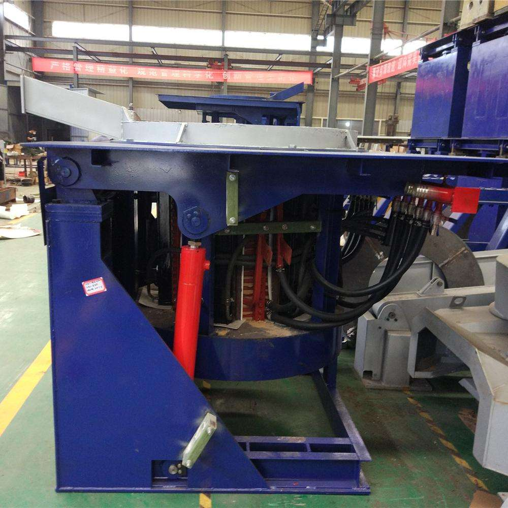 Hydraulic Tilting Induction Furnace Manufacturers