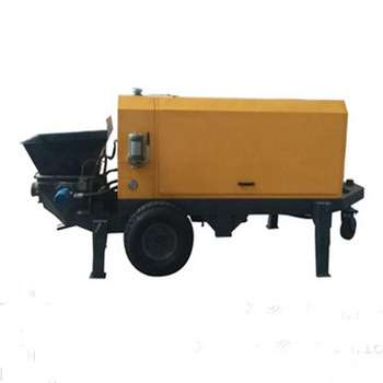 Hydraulic Trailer Concrete Pump Manufacturers