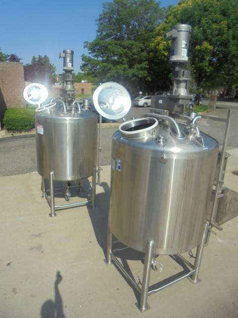 Sanitary Mix Tank Manufacturers