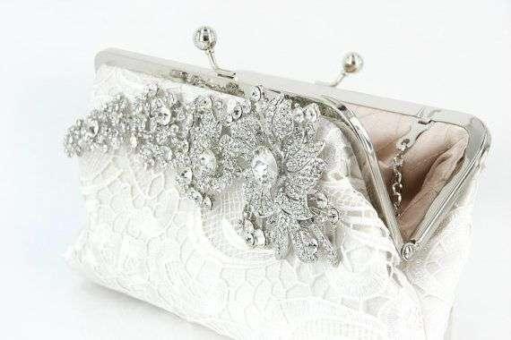 Satin Bridal Handbag Manufacturers
