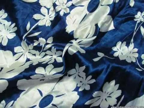 Satin Cotton Printed Fabric Manufacturers